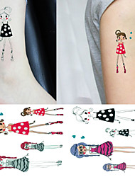 Temporary Body Tattoo Paste Waterproof Tattoo Stickers Wholesale for Men and Women,3PCS