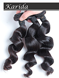 3 pieces/lot Cheap Malaysian Hair Weaving,Malaysian Hair Weave Loose Curly