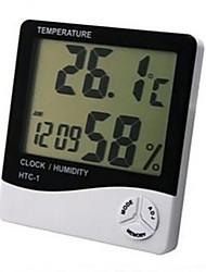 Réveil LCD avec un temps de calendrier affichage hygromètre électronique