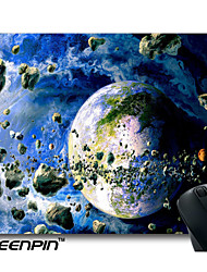 seenpin personalizado mouse pads 3d art design universo terra
