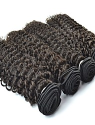 4Pcs Lot Vietnamese Virgin Hair Jerry Curl Natural Black Color #1B Human Hair Bundles