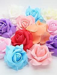 Wedding Décor 6cm Rose Head(Set Of 12 More Colours)