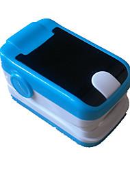 oxymètre de pouls du bout des doigts avec / poignet alarme d'affichage de la couleur du cordon de cou