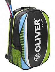 azul raqueta de bádminton de ocio mochila bolsa / naranja multifunción equipo bolsa