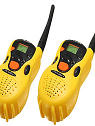 2pcs jouets en plastique portables talkie-walkie