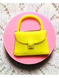 Backformen Silikon Backformen Tasche für Fondant candy Schokoladenkuchen (zufällige Farben)