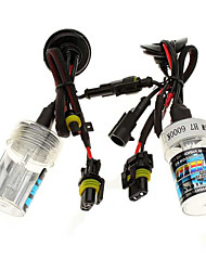 Car H7 55W 6000K HID Xenon Headlight Light Lamp Bulb (2PCS)