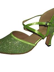 Maßgefertigter Absatz - Glitter - Latin/Modern/Standard-Tanz Schuhe - Damen