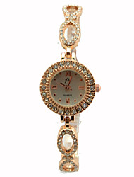 Women's Watch Bracelet Watch With Diamante Square Case
