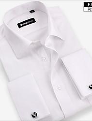 la chemise des hommes, nouvelle Fit robe de bouton de manchette chemises français chemises à manches longues pour hommes occasionnels