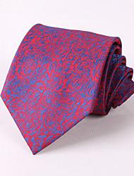 Cravatte - A quadri DI Poliestere - Blu/Borgogna