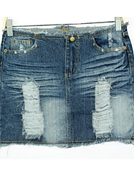 Women's Casual Skirts (Denim)