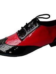 Customized Men's Latin Ballroom Performance Dance Shoes