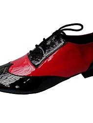 zapatos de baile de salón de baile latino rendimiento de los hombres personalizados