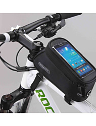 New Design 5.5 Inch Bicycle Front Bag with Transparent PVC Touchable Mobile Phone Screen