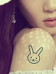 Cute Bunny Tattoo Stickers Temporary Tattoos(1 Pc)