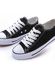 Men's Shoes Casual Canvas Fashion Sneakers Black/Blue/Red/White/Navy