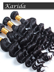 4 pcs/ lot Free Shipping High Quality Grade 7a Unprocessed Brazilian Virgin Hair