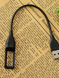 Portable USB Charging Cable for Fitbit Flex Wireless Wristband Bracelet - Black (22.2cm)