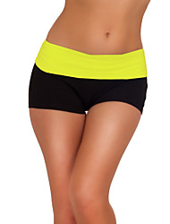 Sexy Mini Knockout Yoga Exercise Gym Workout Cotton Fitted Spandex Shorts