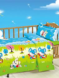 Animal Design Baby Bedding Set for Newborn 100% Cotton