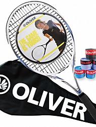Las raquetas de tenis ( Azul Claro , Aleación de aluminio y carbono ) - Impermeable/Buena aerodinámica/Alta elasticidad/Durabilidad