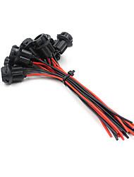 10x t10 5050 extensão conector do soquete carro conduzido base da lâmpada de luz titular agradável