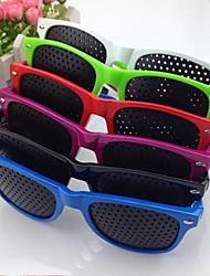 moda visão cuidados com a visão visão stenopeic melhorar correção óculos pinhole