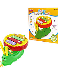 Best Gift for Kids Baby Toys Happy Snail Musical Toys Xylophone and Drum