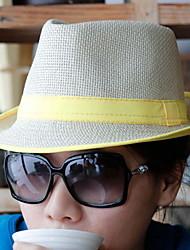 Unisex Sombrero Fedora Vintage/Casual - Verano - Algodón/Lino