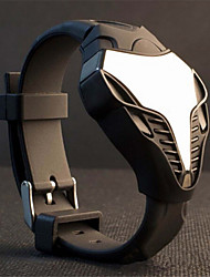 cobra LED display ur farverige lys digitalt sport stealth fighter stil armbåndsure