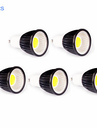 5pcs MORSEN® 7W GU10 500-550LM Support Dimmable Cob Led Spot Light Lamp Bulb