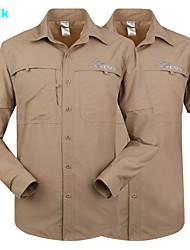 dropshipping sports de plein air tactiques manches longues polyster cyclisme chemises de chasse des hommes UV respirant à séchage rapide