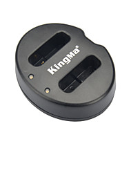 KingMa® Dual Slot USB Battery Charger for Canon NB-12L Battery for LEGRIA mini X Powershot G1X Mark N100 Camera-Black