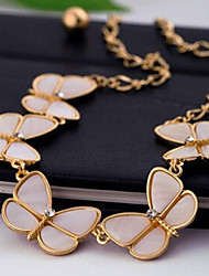 New Arrival Fashional Popular Fresh Butterfly Necklace