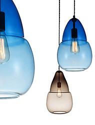 Lustre/Lampe suspendue - Contemporain/Traditionnel/Classique/Rustique/Tiffany/Vintage/Rétro - avec Style mini - Verre