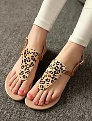Sandalias ( Piel sintética , Como la Imagen )- 0-3cm - Tacón plano para Zapatos de mujer