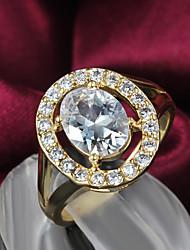 chapado en oro partido anillo anillos declaración de venta de la promoción las mujeres 2015 productos de venta caliente