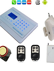 Touch Burglar Lcd Gsm Alarm System Wireless For Home Security Android Ios App