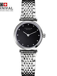 Watch The JIANIANHUA Haze Thin And Little Lady Quartz Watch Waterproof Two Fine Needle Steel Watch Watch