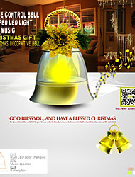 ACMESHINE Sound Control Decoration Led Bell Lamp For Festival,Holiday Use With Music (Battery Not Included)