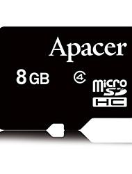 apacer 8gb Class4 cartão de memória microSDHC