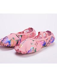 Non personalizzabile Donna/Uomo/Bambino Scarpe da ballo Balletto Pelle Senza tacco/Ballerina Rosa