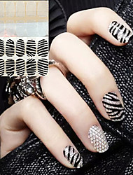 32PCS Imitate Diamond Fashion Nail Stickers