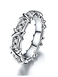 Solid Silver Genuine Brand 1:1 Custom Jewelry X Style Wedding Band SONA Simulate Diamond Engagement Ring Platinum Plated