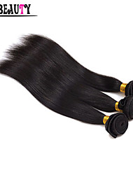 "3Pcs/Lot 8""-28"" Malaysian Virgin Hair Straight Hair Unprocessed Remy Human Hair Weaving Rosa Hair Products Full Bundles"