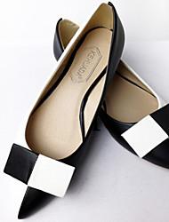 Flach - 0-3cm - Damenschuhe - Flache Schuhe ( Gummi , Schwarz/Rot/Gelb )