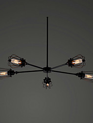 Home Retro Black Pendant Lamp