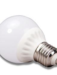 hanting SMD3528 3W Coolwhite (6000K) warmwit (3000K) E27 AC85-265V LED lamp licht / LED-spot 1pcs / lot