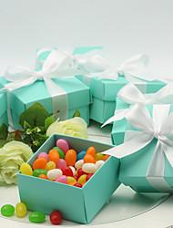 Без персонализации - Коробочки ( Небесно-голубой , Картон ) - Свадьба/Годовщина/Праздник совершеннолетия/День рождения